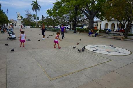 Parque José Martí en Cienfuegos Cuba