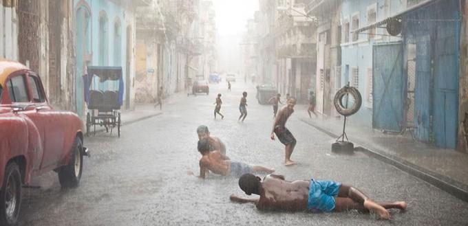Temporda de lluvia en Cuba