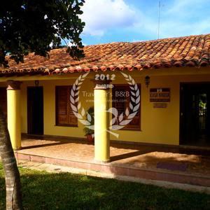 Front of the Casa Particular Naveda Vinales