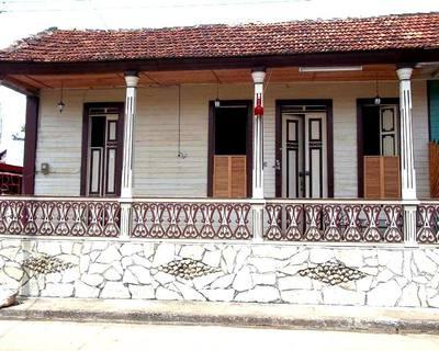 Casa Colonial Ubicada en el centro de la ciudad de Baracoa la ciudad primada de Cuba