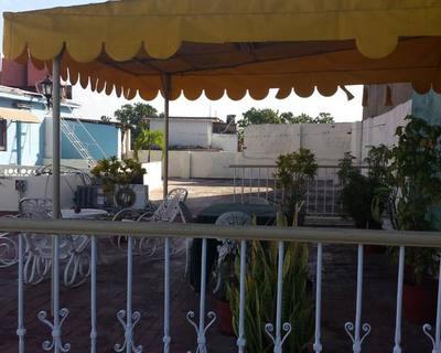 Hostal Boulevard en la terraza