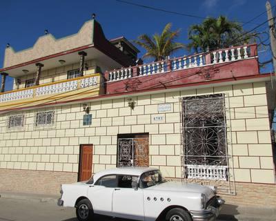 Fachada  de  La  Villa  Soñada