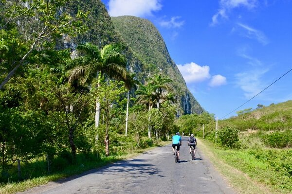 Biking tours around vinales