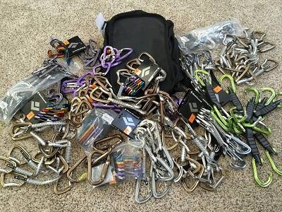 climbing gear donations