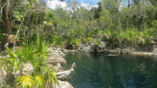 Cueva peces Cuba