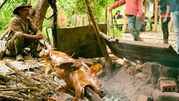 lechon asado cubano