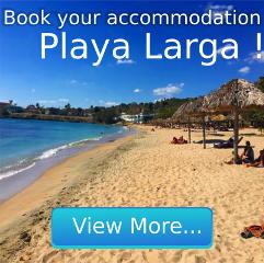Accommodation in Playa Larga