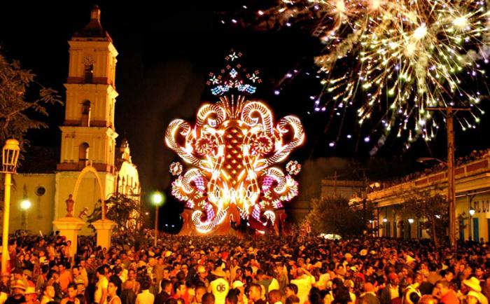 Traditions Celebrations Cuba Infographi